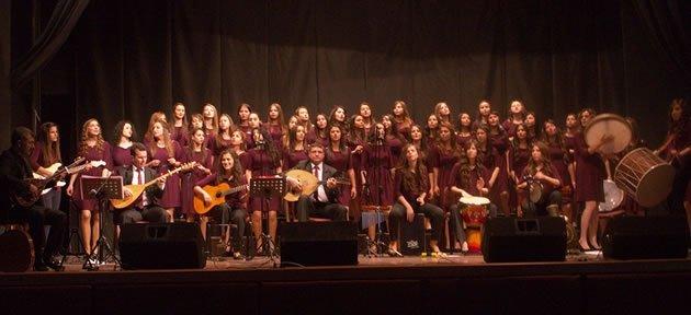 Kız Teknik ve Meslek Lisesi Ankara'da konser verdi