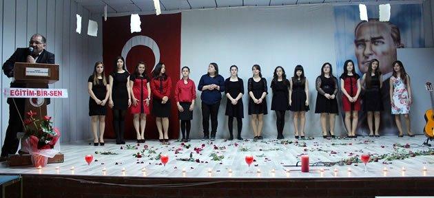 Kız Teknik ve Meslek Lisesi'nden Şiir Dinletisi
