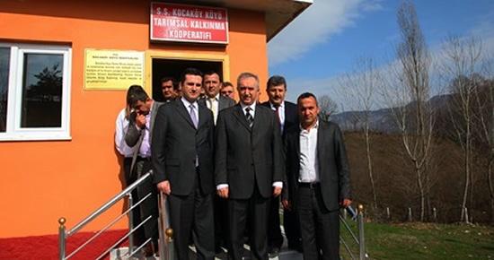 Kocaköy Tarımsal Kalkınma Kooperatifi hizmet binası açıldı