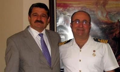 Komutan'dan Başkan'a veda ziyareti