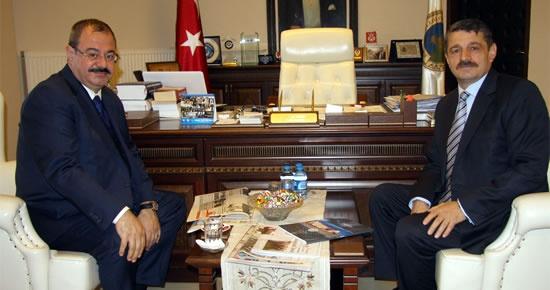 Konukoğlu'ndan Başkan'a ziyaret