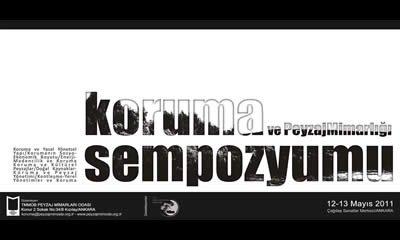 Koruma ve Peyzaj Mimarlığı Sempozyumu 12-13 Mayıs Ankara