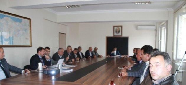 Köylere Hizmet Götürme Birliği Kasım Ayı Olağan Toplantısı Yapıldı