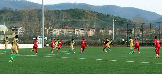 Kozcağız Belediyespor 1-5 Bartınspor