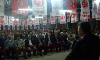 Kozcağız'da 30 CHP'li ve AKP'li MHP'ye katıldı