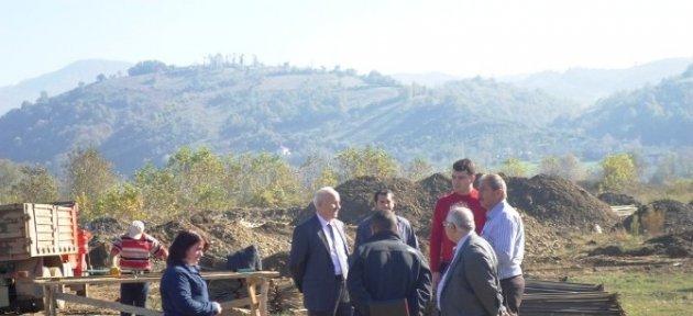 Kozcağız'da 5 Milyon Tl'lik Proje Devam Ediyor