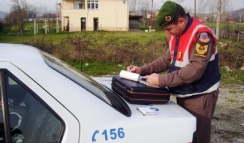 Kozcağız'da çalınan otomobiller terkedilmiş olarak bulundu