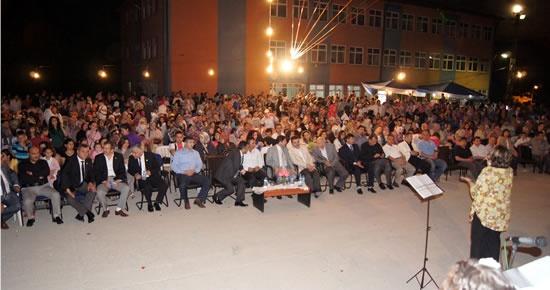 Kozcağız'da mezuniyet coşkusu