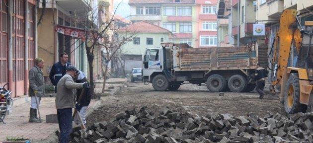 Kozcağız'da Yol Yapım Çalışmalarına Başlanıyor