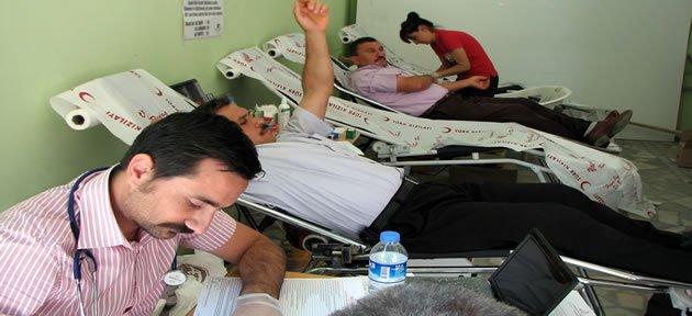 Kumluca'da Kan Bağışı Kampanyası