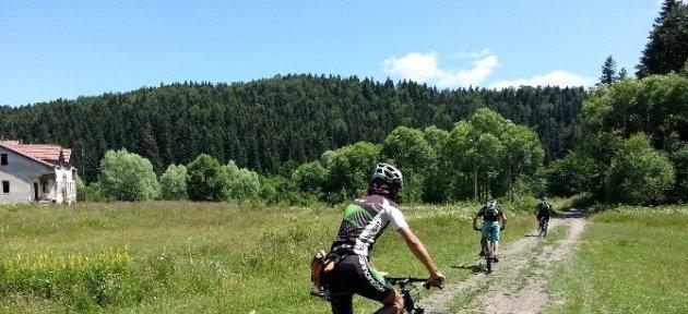 Küre Dağları Milli Parkı'nda Bisiklet Turizmi Atağı