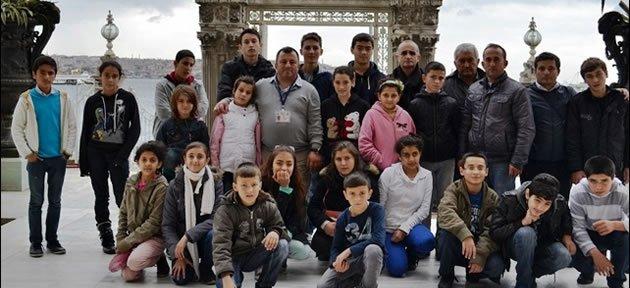 Kurucaşileli Öğrenciler İstanbul'u Gezdi