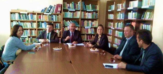 Kütüphane Yöneticileri Toplandı