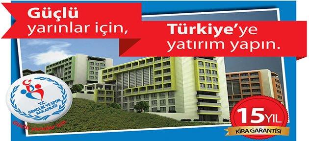 KYK Bartın'da 1500 Kapasiteli Öğrenci Yurdu Kiralıyor