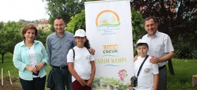 Lider Çocuk Tarım Kampı