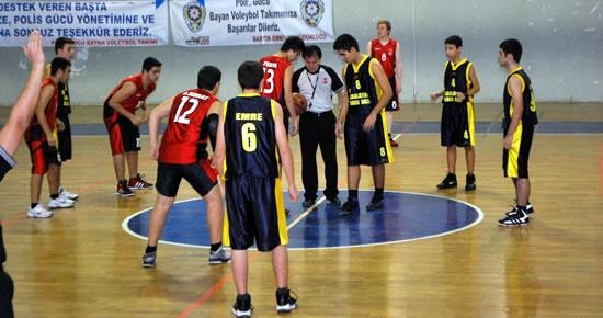 Liselerde Basketbol Heyecanı Başladı