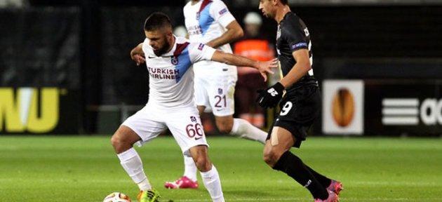 Lokeren 1-1 Trabzonspor