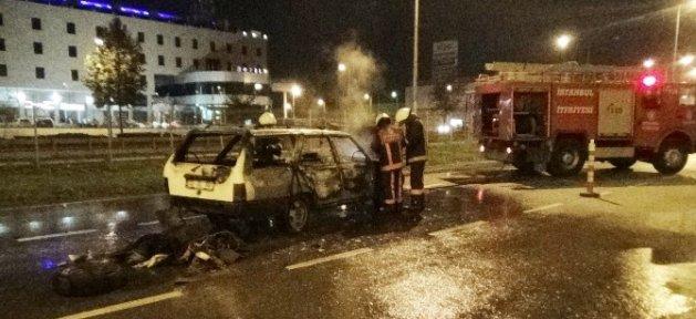 Lpg'li Otomobil Elev Topuna Döndü