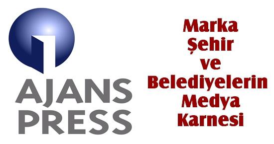 Marka Şehir ve Belediyelerin Medya Karnesi