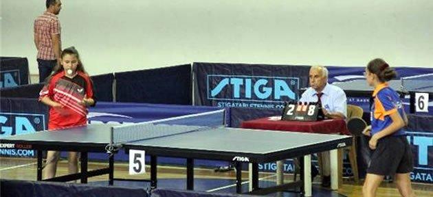 Masa Tenisi Minikler Türkiye Şampiyonası Bartın'da Başladı