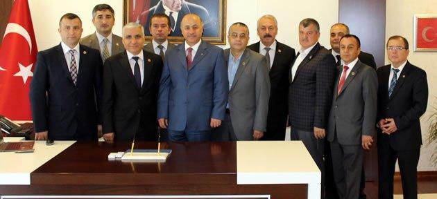 Meclis'ten Vali Azizoğlu'na Hoş Geldin Ziyareti