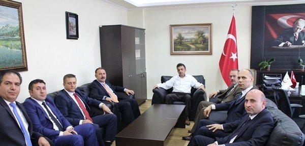 Mehmet Öz, Genel Sekreter Uyanık'ı Ziyaret Etti