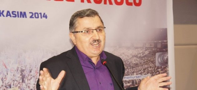 Memur-sen Genel Başkanı Ahmet Gündoğdu Kastamonu'da