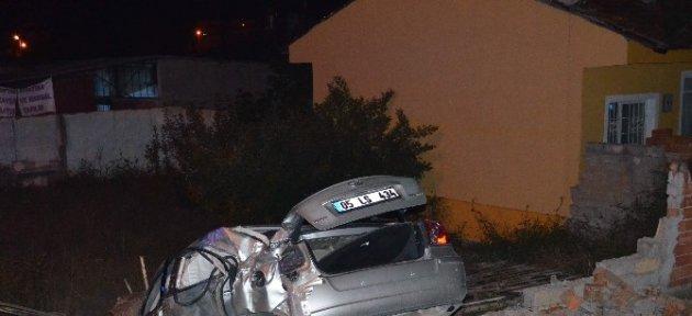 Merzifon'da Trafik Kazası: 1 Ölü