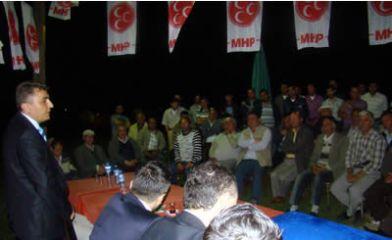 MHP adayı Bilgin Ellibaş ve Sülek köylerinde