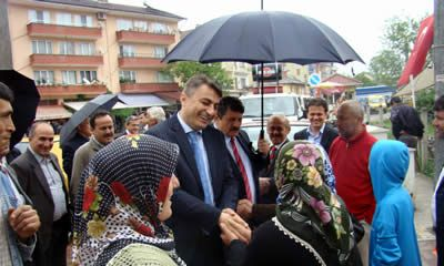 MHP adayı Bilgin Ulus, Kabasakal Kumluca'da