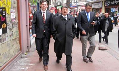 MHP adayları seçim çalışmaları