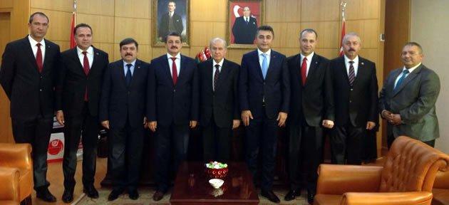 MHP Heyeti Ankara'da
