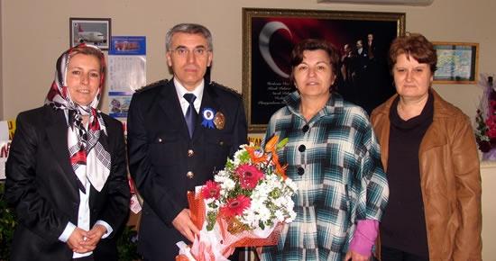 MHP Kadın Kolları'ndan Altınok'a ziyaret