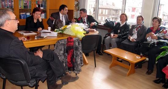 MHP Kadın Kollarından Avukatlara ziyaret
