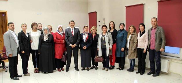 MHP Kadın Kolları'ndan Başkan'a Ziyaret