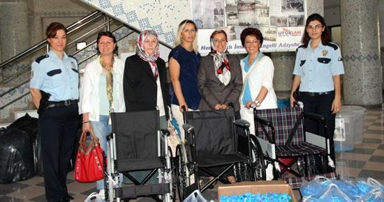 MHP Kadın Kolları'ndan projeye destek