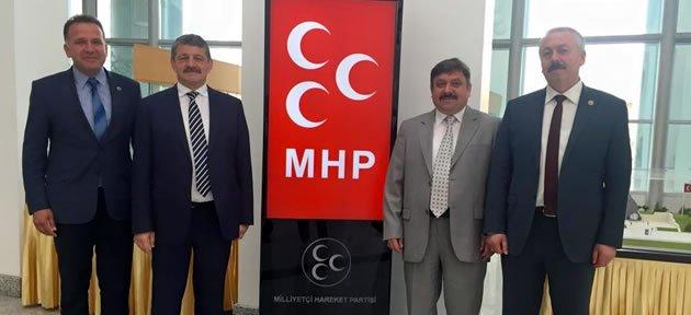 MHP Yönetimi Ankara'da