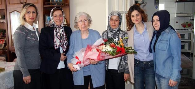 MHP'den 8 Mart Ziyaretleri