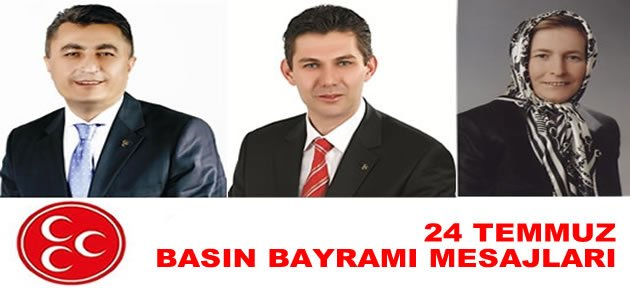 MHP'den Basın Bayramı mesajları