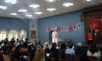 MHP'den sandık kurulu üyelerine seminer