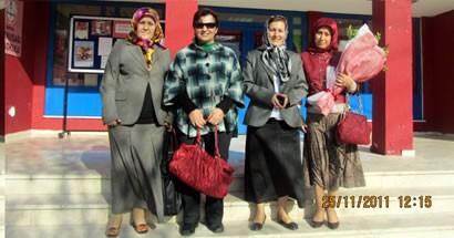 MHP'li kadınlardan Öğretmenler Günü kutlaması