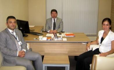Milletvekili Tunç'a Hayırlı Olsun Ziyareti