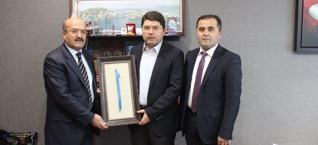 Milli Eğitim Müdürü Demir Milletvekili Tunç'u Ziyaret Etti