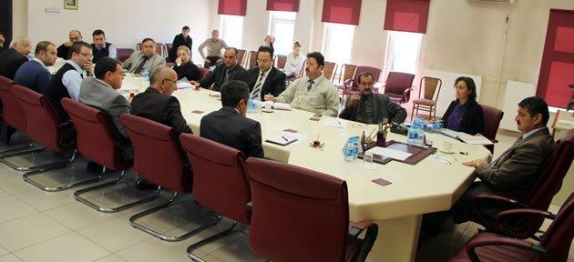 Müdürler ve Teknik Personelle Toplantı