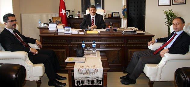 Müdürlerden Başkan'a ziyaret