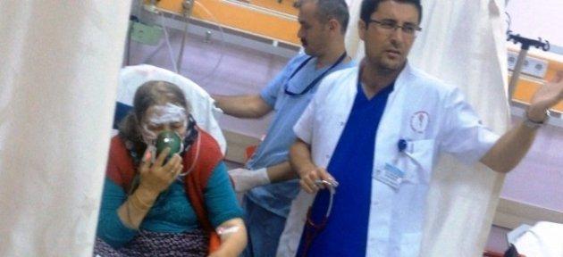Mutfak Tüpü Bomba Gibi Patladı: 1 Yaralı