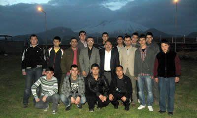 Öğrencilerden Kayseri'ye gezi