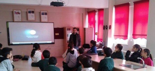Öğrencilere Güvenli İnternet Anlatıldı