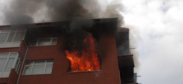 Öğrencilerin Evinde Yangın