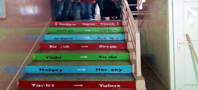 Öğretmen Adaylarından Yanlışım Varsa Düzelt Projesi